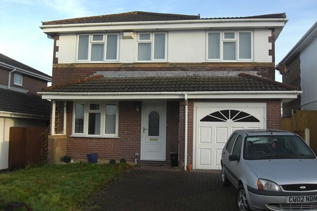 Thumbnail Detached house for sale in Cae Eithin, Llangyfelach, Swansea