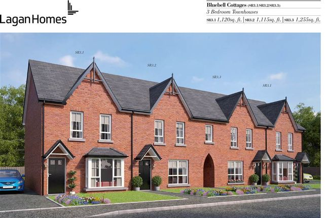 Thumbnail Town house for sale in Station Road, Randalstown, Antrim