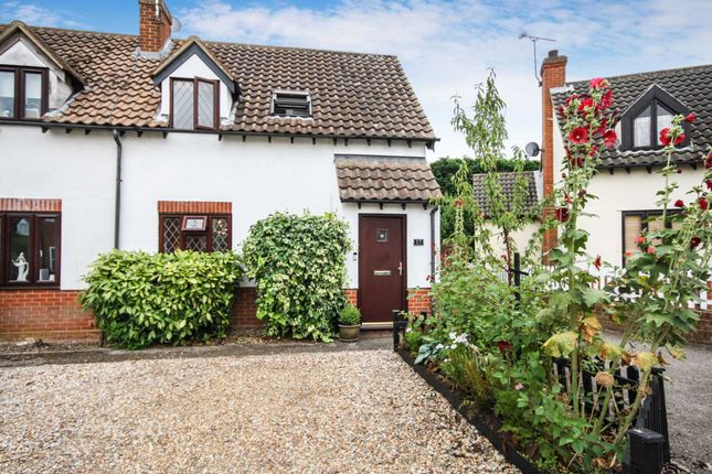Thumbnail End terrace house for sale in Gate Lodge Square, Laindon, Basildon