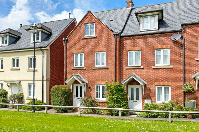Thumbnail Town house for sale in Fleming Way, St. Leonards, Exeter