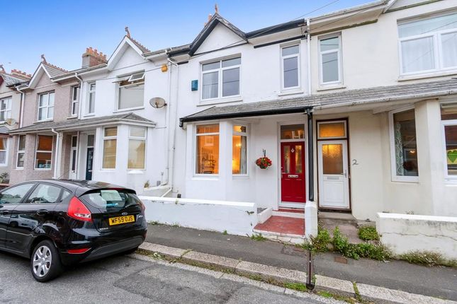 Thumbnail Terraced house for sale in Symons Road, Saltash, Cornwall