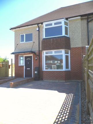 Thumbnail End terrace house to rent in King Edward Avenue, Broadwater, Worthing