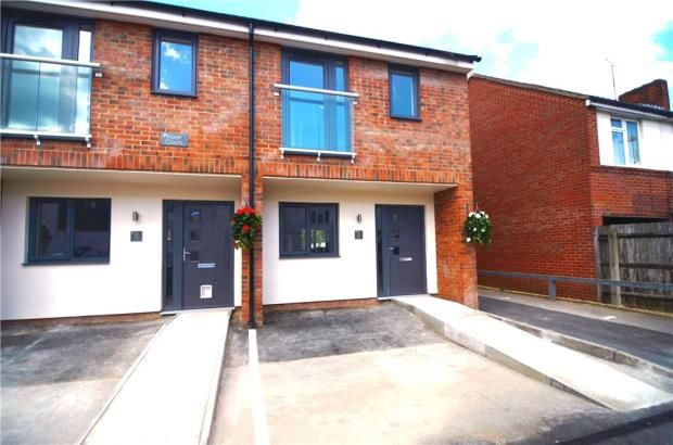 Thumbnail End terrace house for sale in Rose Court, High Street, Farnborough