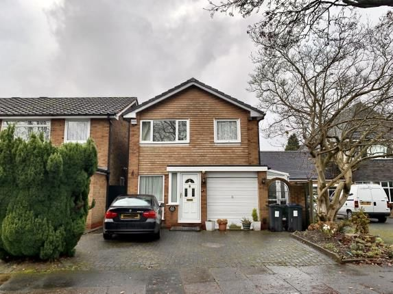 Thumbnail Detached house for sale in Hazelwood Road, Birmingham, West Midlands