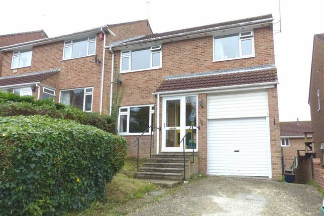 Thumbnail Semi-detached house for sale in Bridlebank Way, Weymouth, Dorset