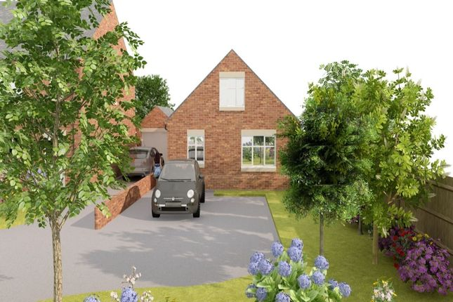 Thumbnail Bungalow for sale in Plot One Pilsley Road, Danesmoor, Chesterfield