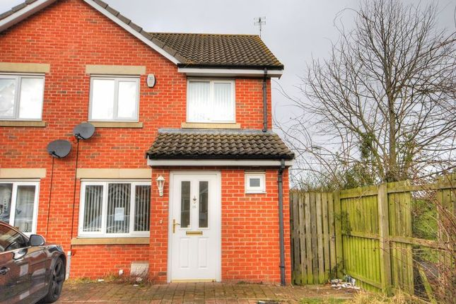 Thumbnail Terraced house to rent in Chestnut Way, Widdrington, Morpeth
