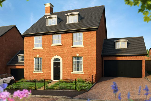 "Thumbnail Detached house for sale in ""The Knightly "" at Pitt Road, Winchester"