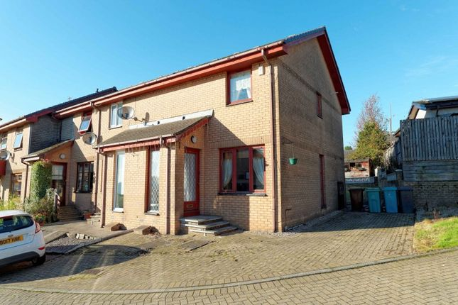 Thumbnail End terrace house for sale in Gimmerscroft Crescent, Airdrie