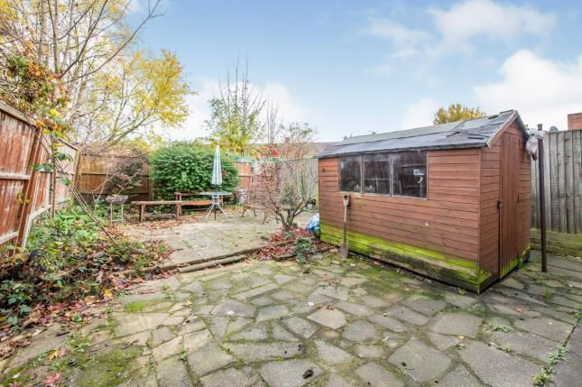 Garden of Selbourne Street, Loughborough, Leicestershire, . LE11