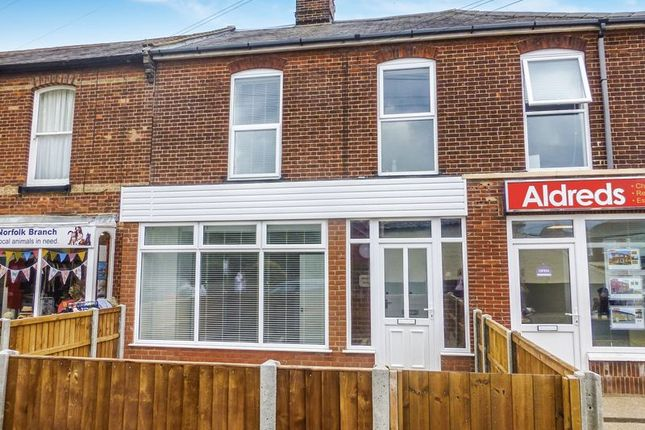 Thumbnail Terraced house for sale in High Street, Stalham, Norwich