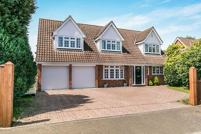 Thumbnail Detached house for sale in Gorsewood Road, Hartley, Longfield