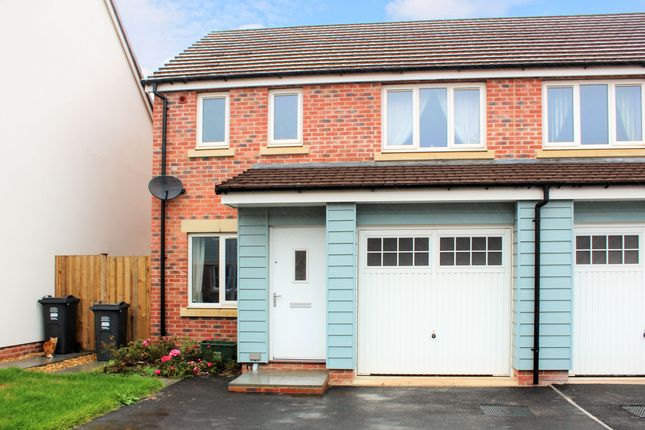 Thumbnail Semi-detached house for sale in Leonides Avenue, Hayward Village, Weston-Super-Mare
