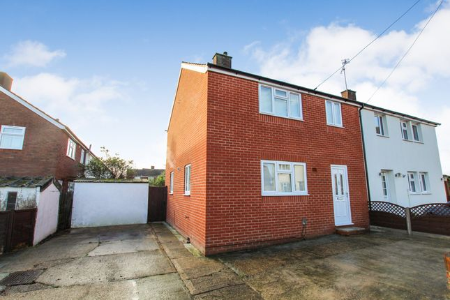 Thumbnail 3 bedroom semi-detached house to rent in Pennington Close, Collier Row, Romford