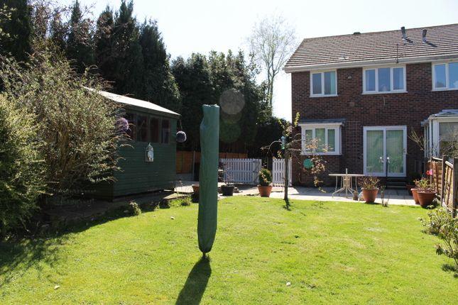 Thumbnail Semi-detached house for sale in Partington Court, Glossop