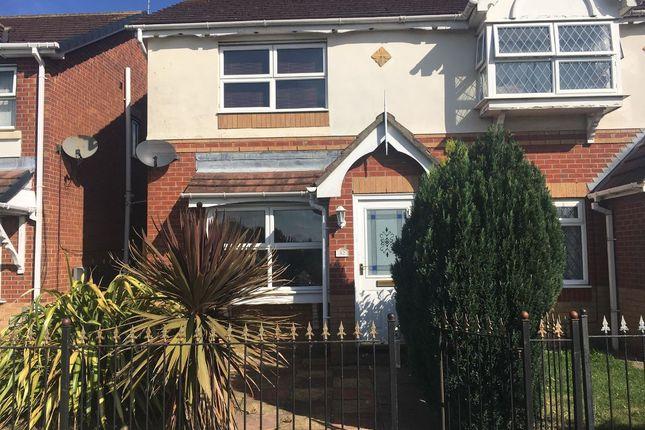 Thumbnail Semi-detached house to rent in Kesteven Way, Kingswood, Hull