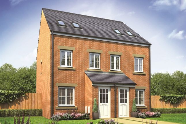"3 bedroom town house for sale in ""The Sutton "" at Bennetts Row, Chester Road, Oakenholt, Flint"