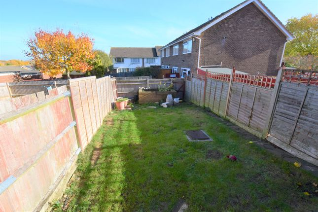 Garden of Maywood Avenue, Eastbourne BN22