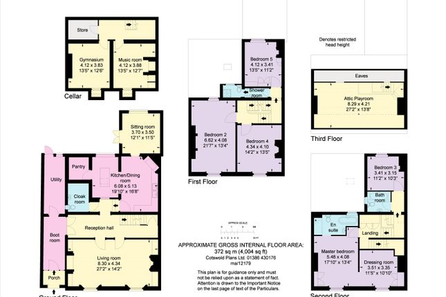 Floorplan of Barbourne Road, Worcester, Worcestershire WR1