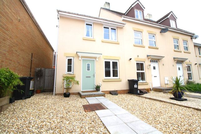 Thumbnail End terrace house for sale in Morse Road, Norton Fitzwarren, Taunton