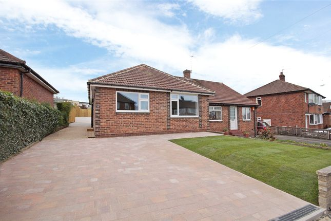 Thumbnail Bungalow for sale in Hill Top Close, Harrogate