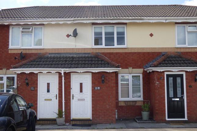 Thumbnail Terraced house for sale in Derwen Deg, Bryncoch, Neath.