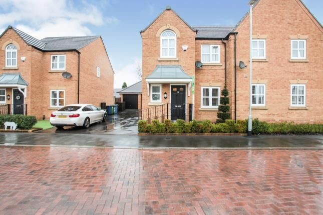 Thumbnail Semi-detached house for sale in Croft Close, Two Gates, Tamworth, Staffordshire