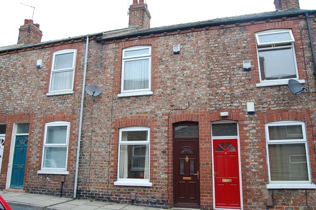 Thumbnail Terraced house to rent in Ashville Street, York, North Yorkshire