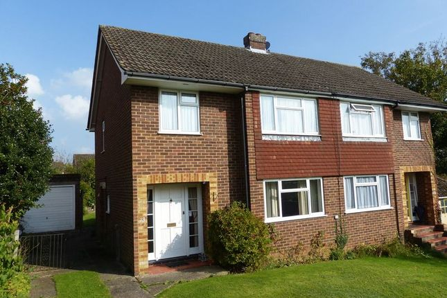 Thumbnail Semi-detached house for sale in Laburnum Close, Marlow