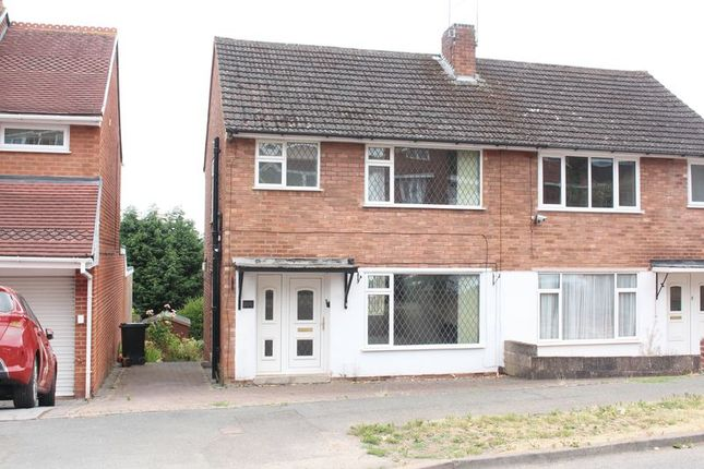 Thumbnail Semi-detached house for sale in Kingsley Road, Kingswinford