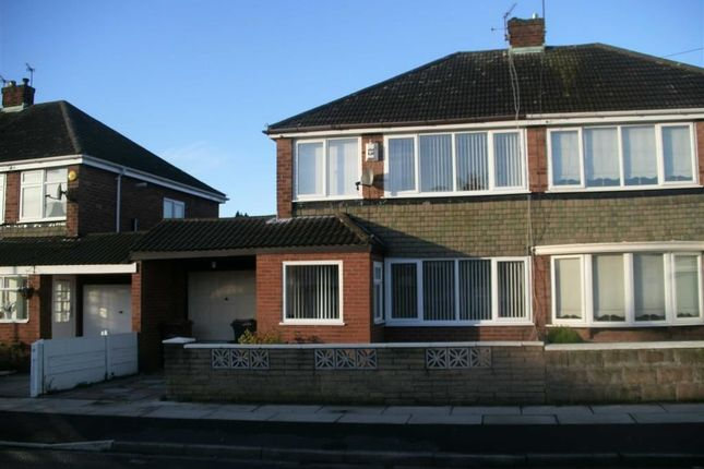Thumbnail Semi-detached house to rent in Rowan Drive, Kirkby, Liverpool