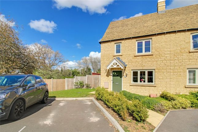 3 bed semi-detached house for sale in June Lewis Way, Fairford, Gloucestershire GL7
