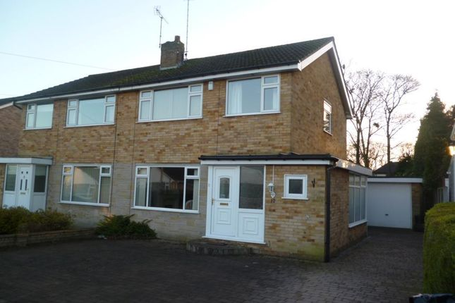 Thumbnail Semi-detached house to rent in Wayside Walk, Harrogate