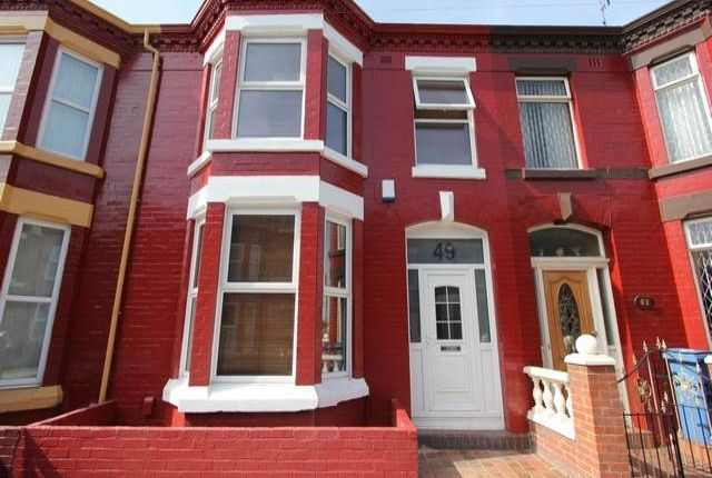 Thumbnail Terraced house to rent in Wavertree L15, Liverpool,