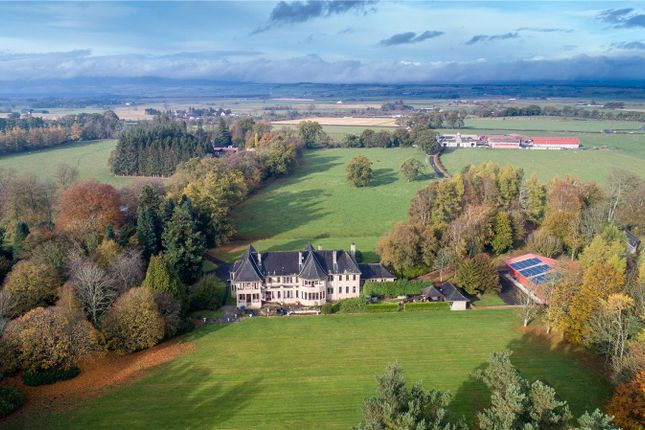 Aerial of Boquhan House, Boquhan, Stirling FK8