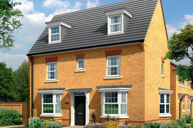Thumbnail Detached house for sale in Plot 125, The Hertford, Gilbert's Lea, Birmingham Road, Bromsgrove