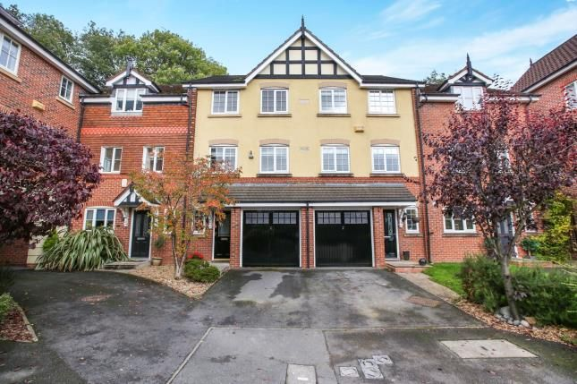 Thumbnail Terraced house for sale in Finsbury Way, Wilmslow, Cheshire, .