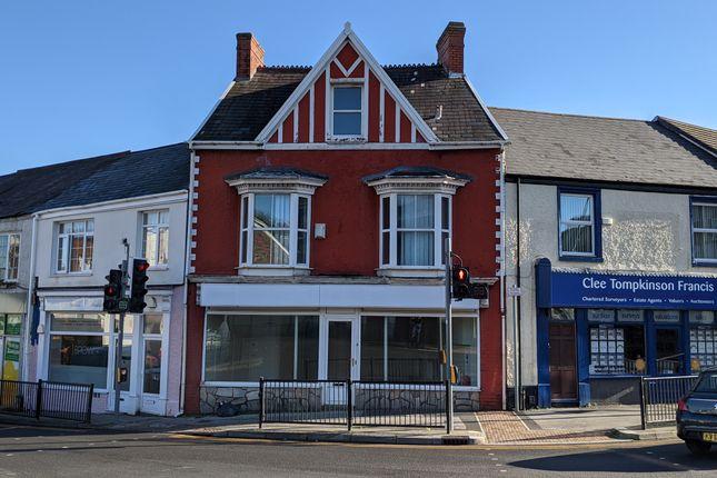 Thumbnail Retail premises for sale in Clase Road, Morriston, Swansea