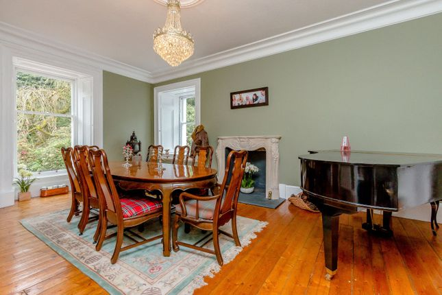 Dining Room of Linden Park, Auchterarder, Perthshire PH3