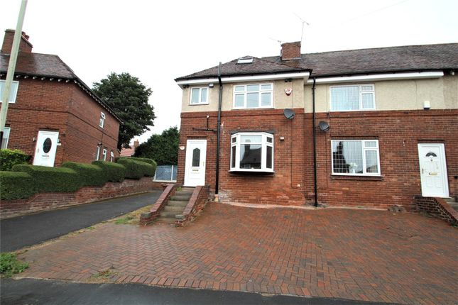 Thumbnail End terrace house to rent in Kingsmead, Pontefract, West Yorkshire