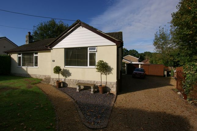 Thumbnail Bungalow for sale in Hillside Road, Corfe Mullen, Wimborne