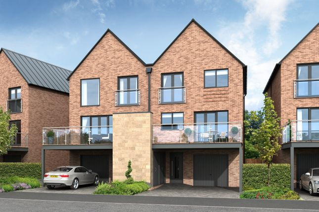 Thumbnail Town house for sale in North Quay, Ballast Hill Road, North Shields