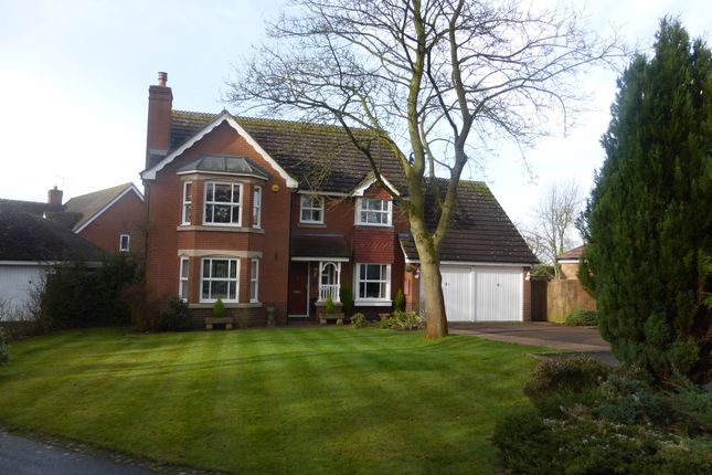 Thumbnail Detached house for sale in Winsford Close, Balsall Common, Coventry