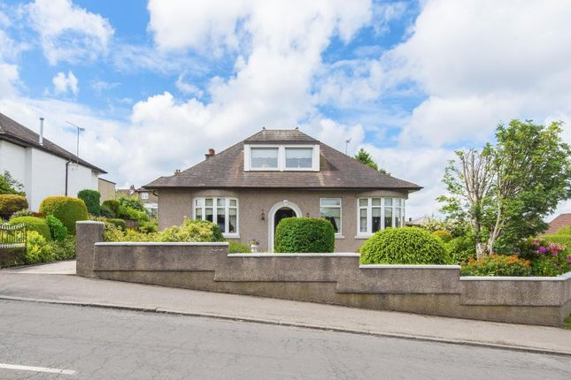 Thumbnail Detached bungalow for sale in 12 Broomieknowe Road, Burnside, Glasgow