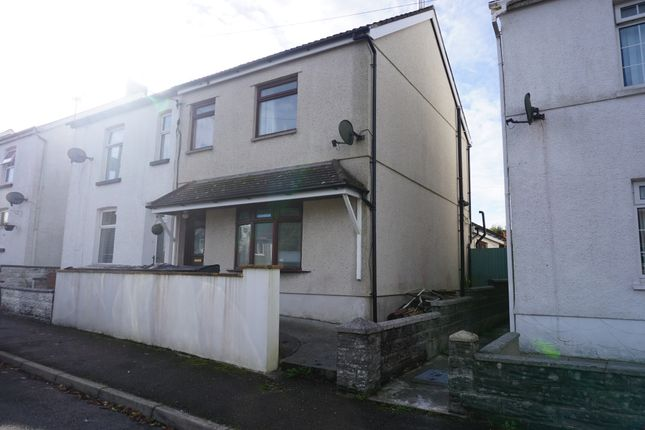 3 bed semi-detached house for sale in Gate Road, Penygroes, Llanelli SA14