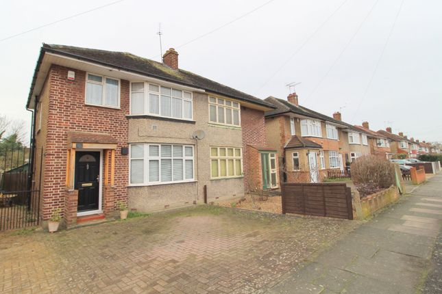 Thumbnail Semi-detached house for sale in West Road, Bedfont, Feltham