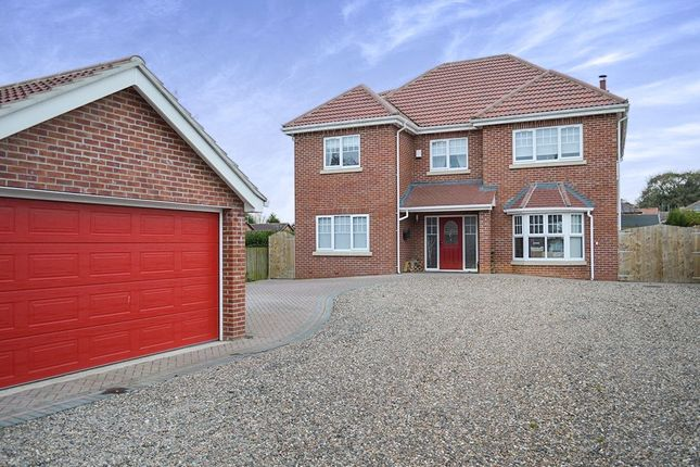 Thumbnail Detached house for sale in Roslyn Crescent, Hedon, Hull
