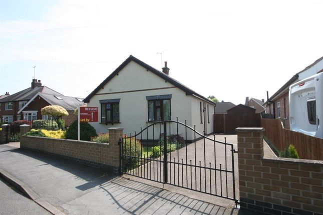 Thumbnail Bungalow to rent in Highgate Road, Sileby, Loughborough