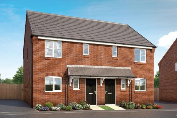 "3 bedroom property for sale in ""The Cornflower At Hedgerows, Bolsover"" at Mooracre Lane, Bolsover, Chesterfield"