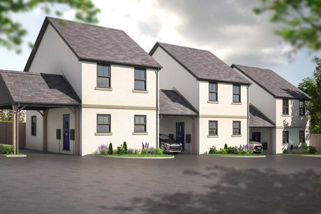 Thumbnail Link-detached house for sale in Queensway Gardens, Hayle, Cornwall